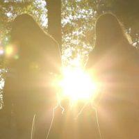 girls walk together